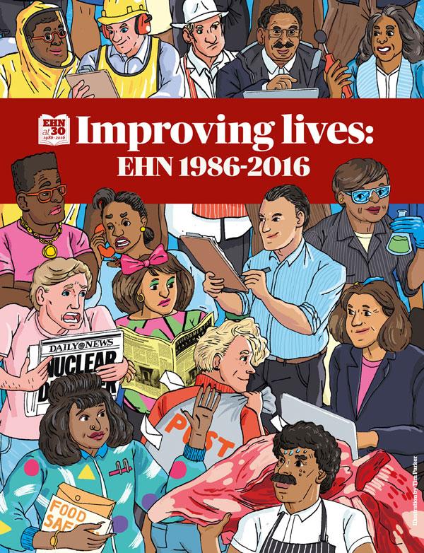 Editorial illustration for Environmental Health News